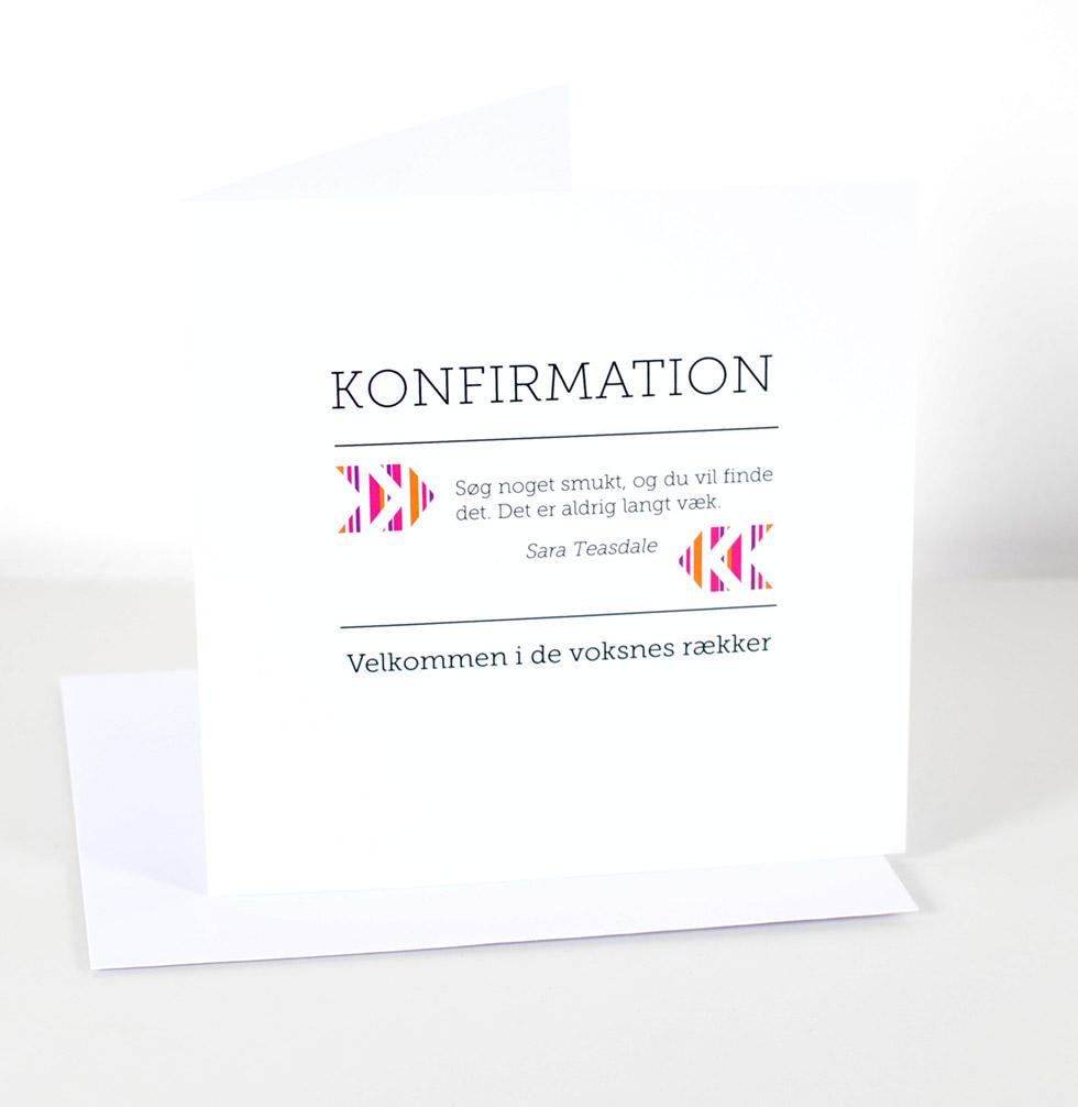 Würtz Design Kort Søg noget smukt