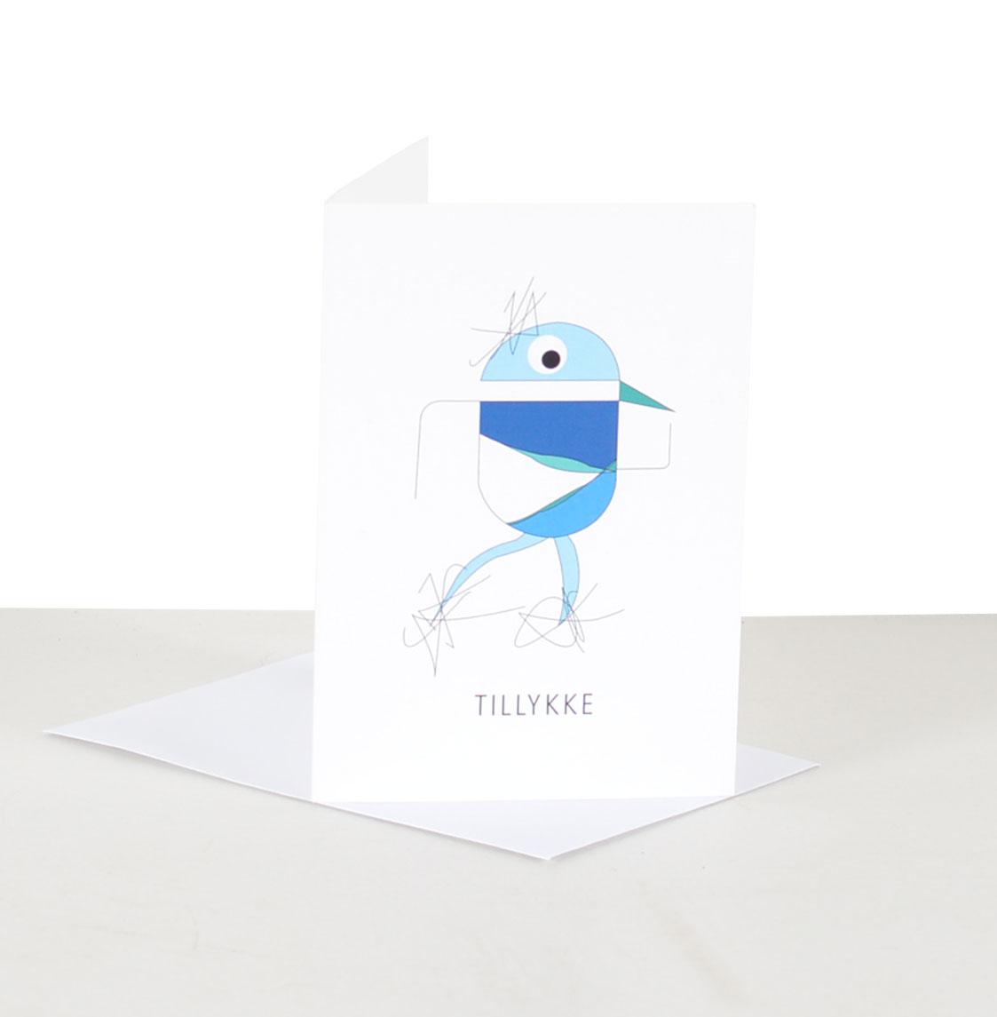 Kort - Fugl - Tillykke